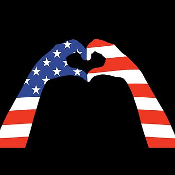 US Memorial and Flag Day 2018 in Love by peter2art