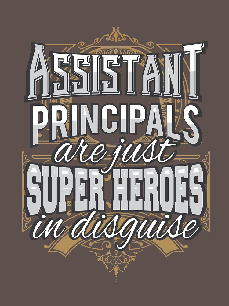 Assistant Principals are just Super Heroes in disguise by ColeLaniTrading