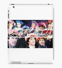 Benedict Cumberpatch Face Collage iPad Case/Skin