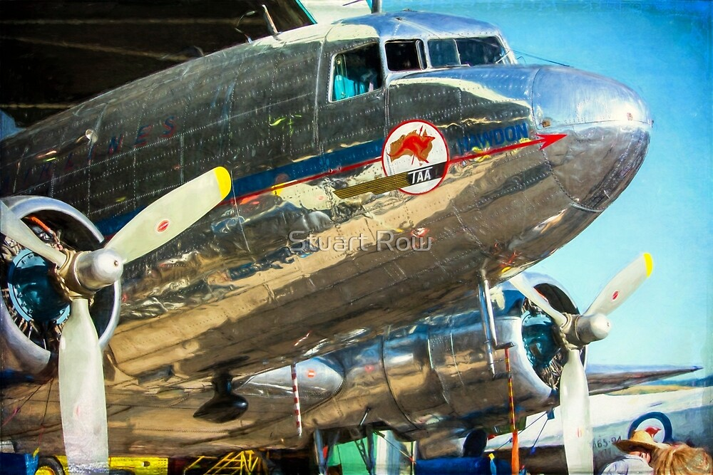 Douglas DC3 Nose by Stuart Row