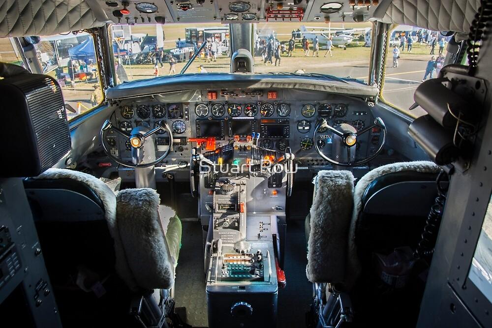 Convair 440 Cockpit by Stuart Row