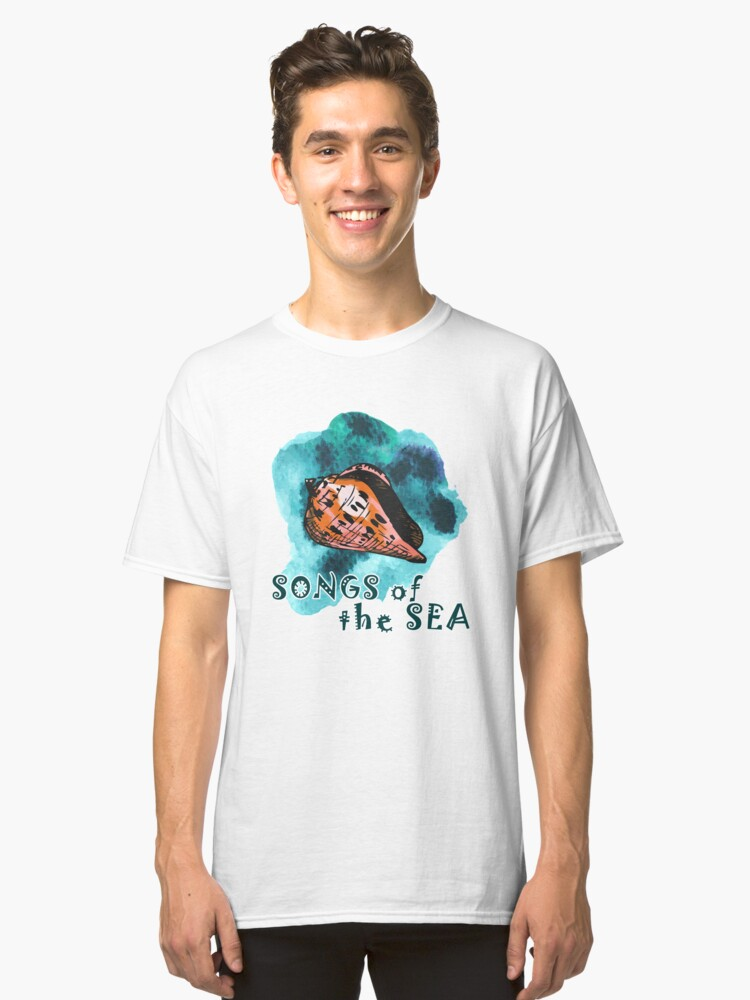 Songs of the sea Classic T-Shirt Front