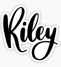 Riley Sticker