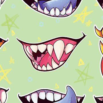 Monster Münder von Pompadorkery