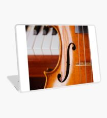 Violin and Piano Laptop Skin