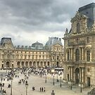 View from the Louvre by Michael Matthews