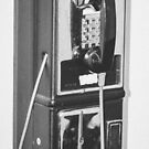 Broken Pay phone by Deana Greenfield