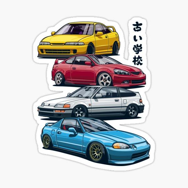 90-93 Acura Integra OEM door pouch pouches pockets blue 2 door