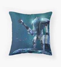 Subnautica - PRAWN Suit (Sea) Throw Pillow