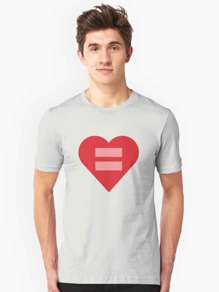 Equal Love Heart by DomaDART