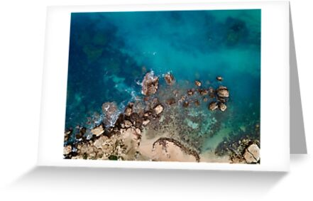 Fallen cliff rocks by The-Drone-Man