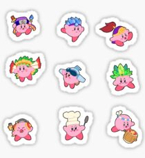 Kirby Stickers (Set 2)  Sticker
