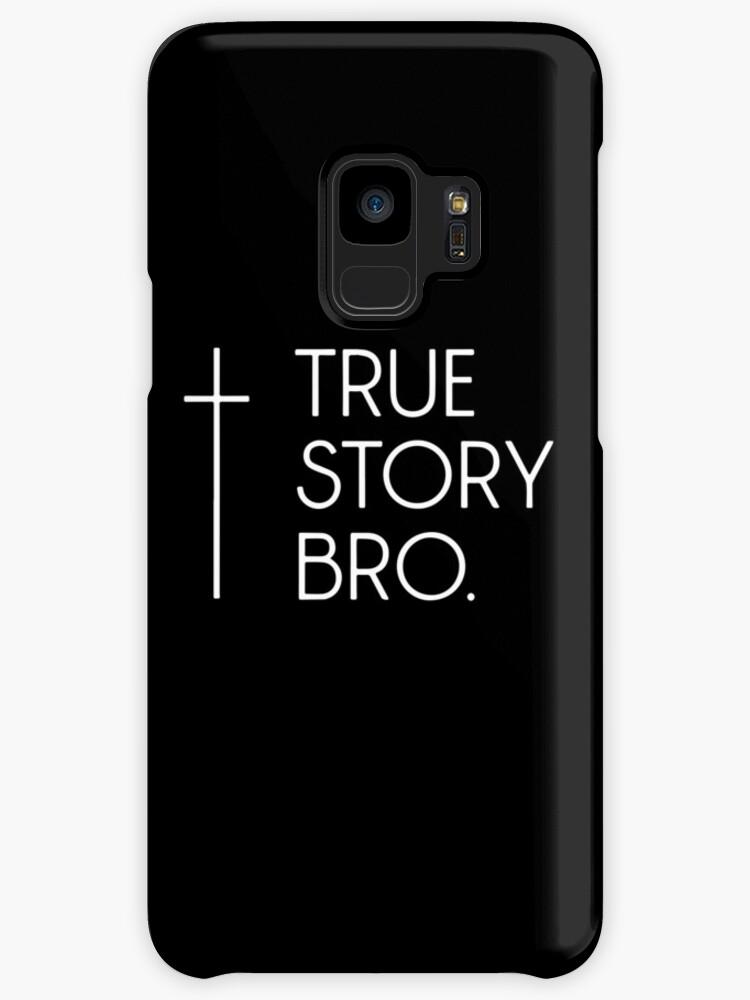 f67fdea8875 Christian Cool Gift Tee Mens True Story Bro Funny Jesus God Cross Bible  Jesus T-
