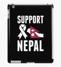 Support Nepal iPad Case/Skin