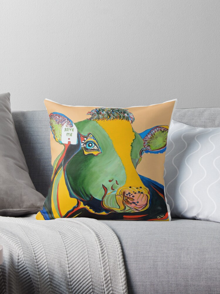 Activist Cow by Giselle Luske