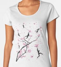 Blossom Flight Women's Premium T-Shirt