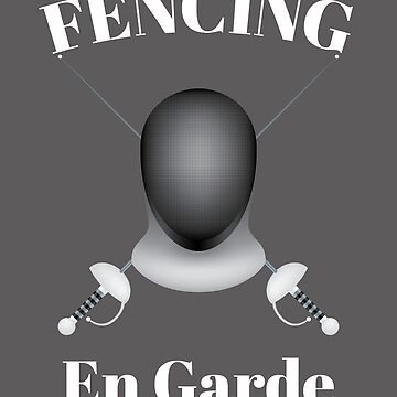 Fencing Design - Fencing En Garde by kudostees