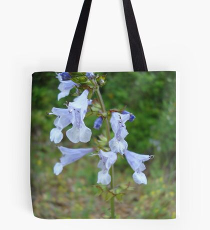 LYRE LEAF SAGE - A BEAUTIFUL FLORIDA WILDFLOWER Tote Bag