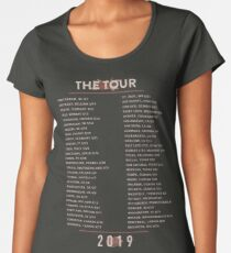 The Tour 2019 Women's Premium T-Shirt