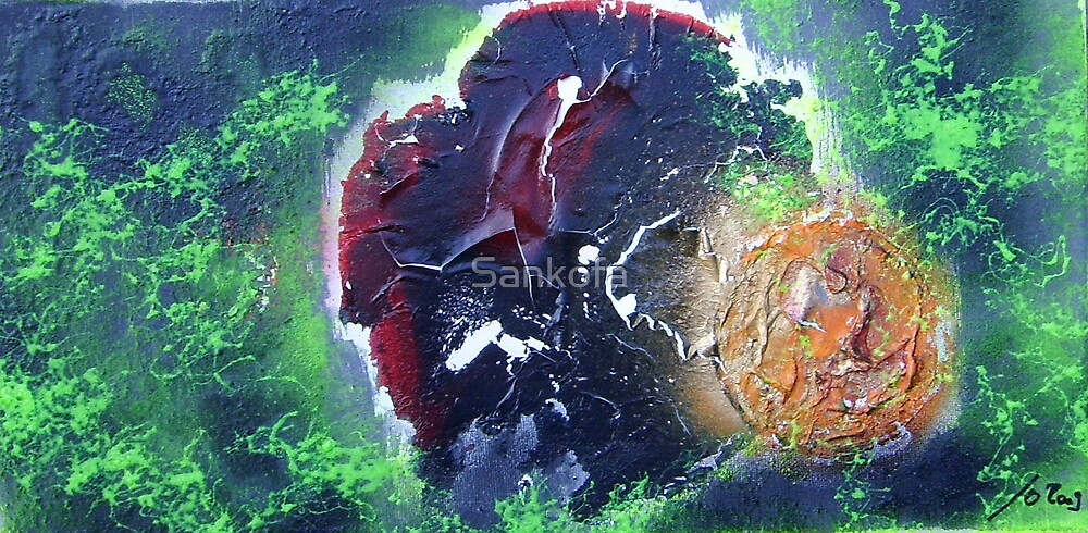 Ganymed and Io by Sankofa