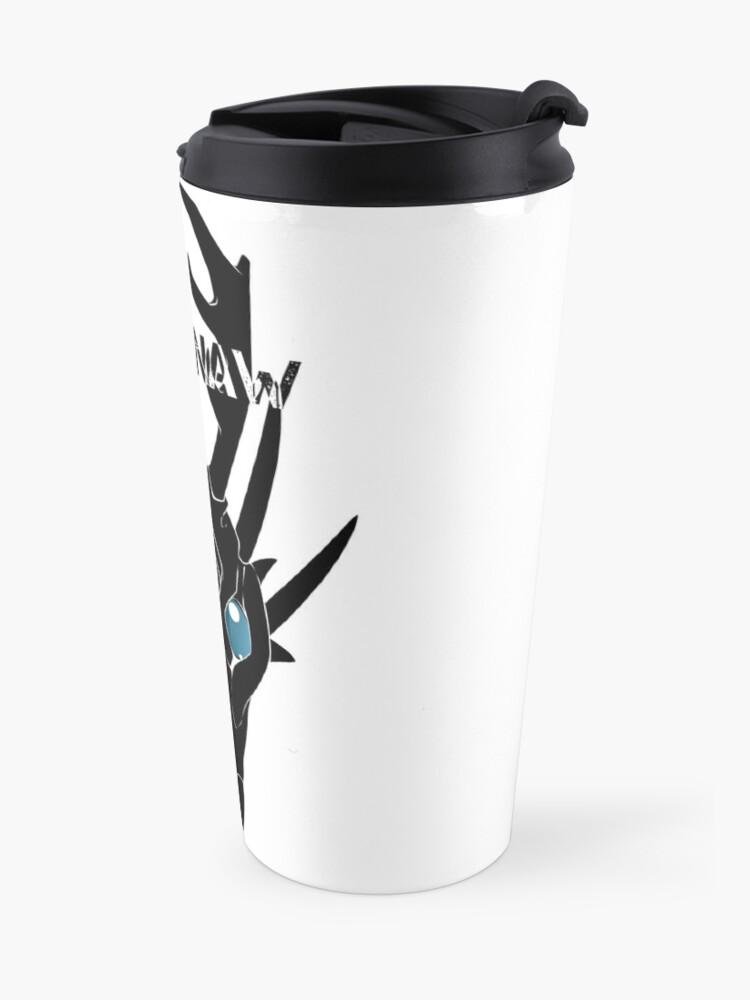 Alternate view of Wastinaw stencil design #2 Travel Mug