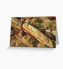 montagu sandstone  Greeting Card