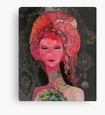 Red Tara Metal Print