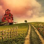 The Higgledy Piggledy House on the Hill... by Rubyblossom