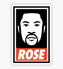 """DERRICK ROSE"" - OBEY STYLE Sticker"