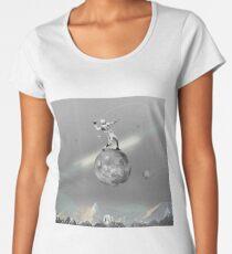 Space Football Women's Premium T-Shirt