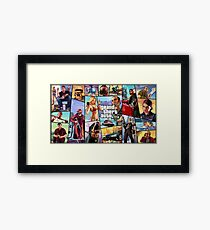 Grand Theft Auto 5 - Theme 1 Framed Print