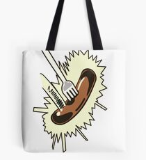 Unexpected Sausage Tote Bag