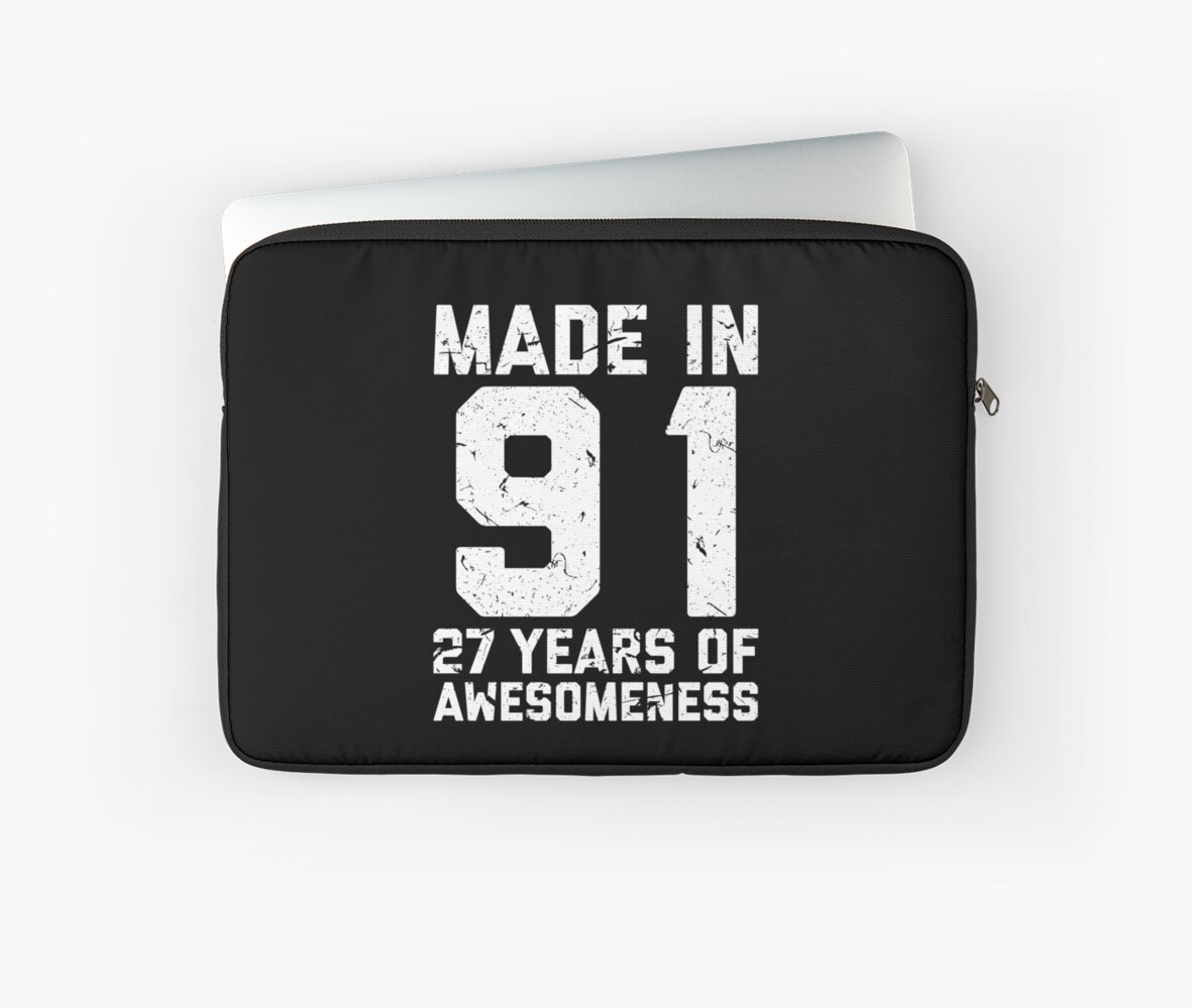 27th Birthday Gift Adult Age 27 Year Old Men Women