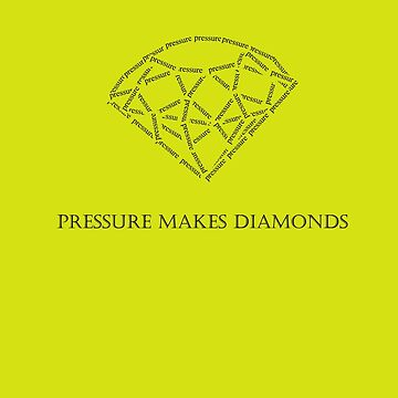 Pressure makes Diamonds in black by midorikawa