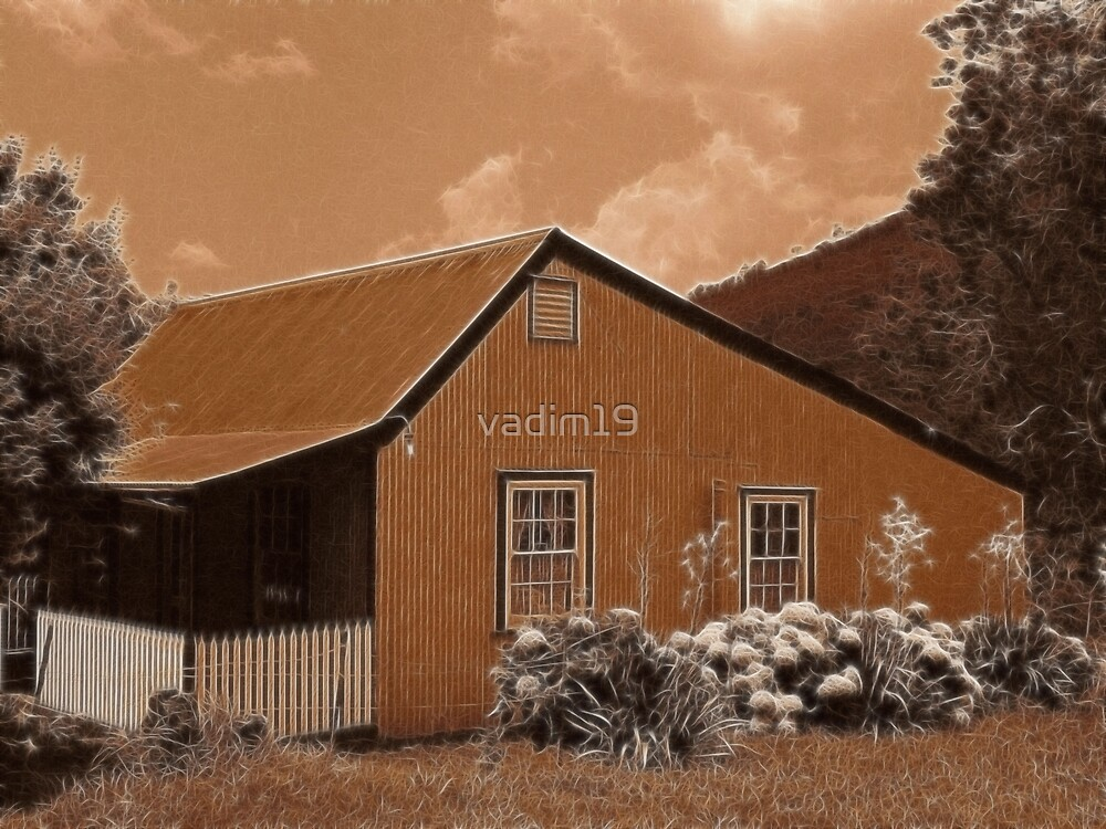 Old Cottage, Pilgrim's Rest, South Africa by vadim19