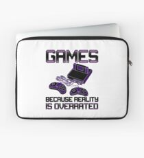 Funny Video Games Addict Laptop Sleeve