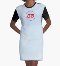 SiegeGG - Washed Graphic T-Shirt Dress