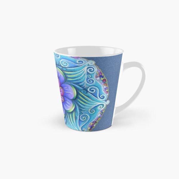 Aqua mandala Tall Mug