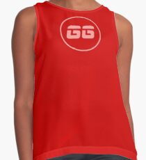 SiegeGG - Red Washed Contrast Tank