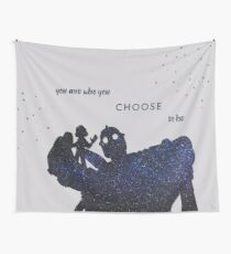 you are who you choose to be - the iron giant Wall Tapestry