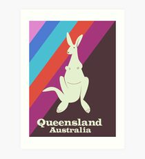 queensland Australia  Art Print