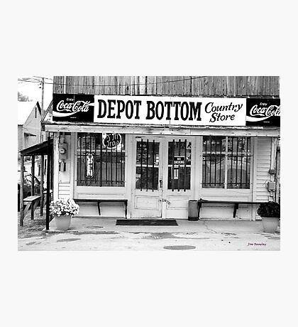 Depot Bottom Country Store ~ McMinnville Tennessee Photographic Print
