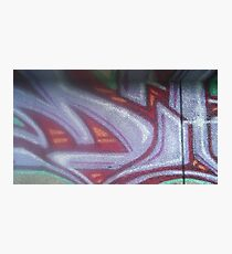 Light Purple and Red Design  Photographic Print