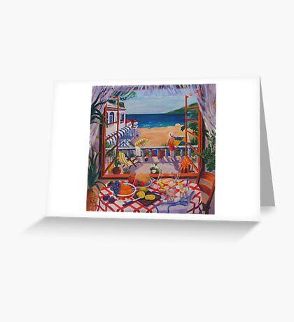 Breeze Greeting Card