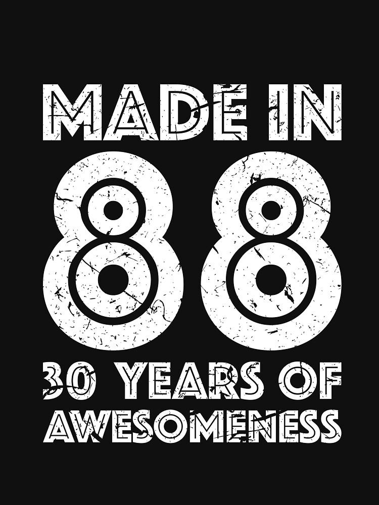 30th Birthday Gift Adult Age 30 Year Old Men Women By Mattlok