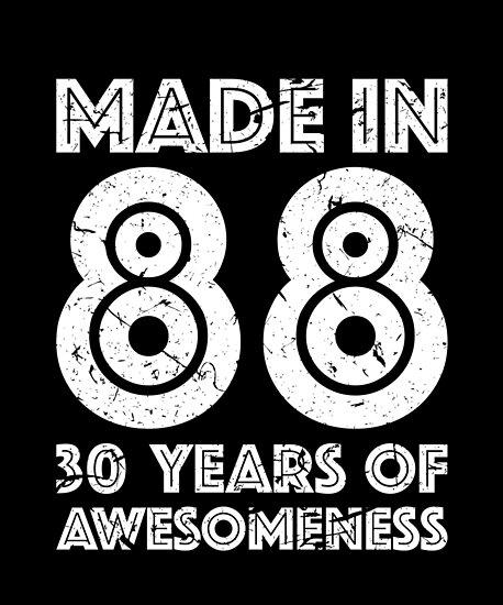 30th Birthday Gift Adult Age 30 Year Old Men Women By Matt L