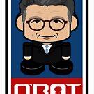 Alfie Politico'bot Toy Robot 2.0 by Carbon-Fibre Media