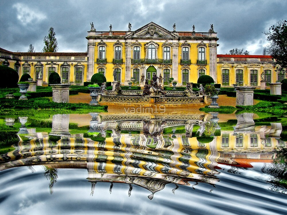 Queluz National Palace, Portugal by vadim19