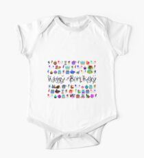 Happy Birthday to you! One Piece - Short Sleeve