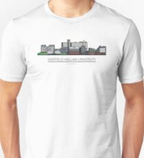 Sheffield Icons - Sheffield Hallam University Unisex T-Shirt